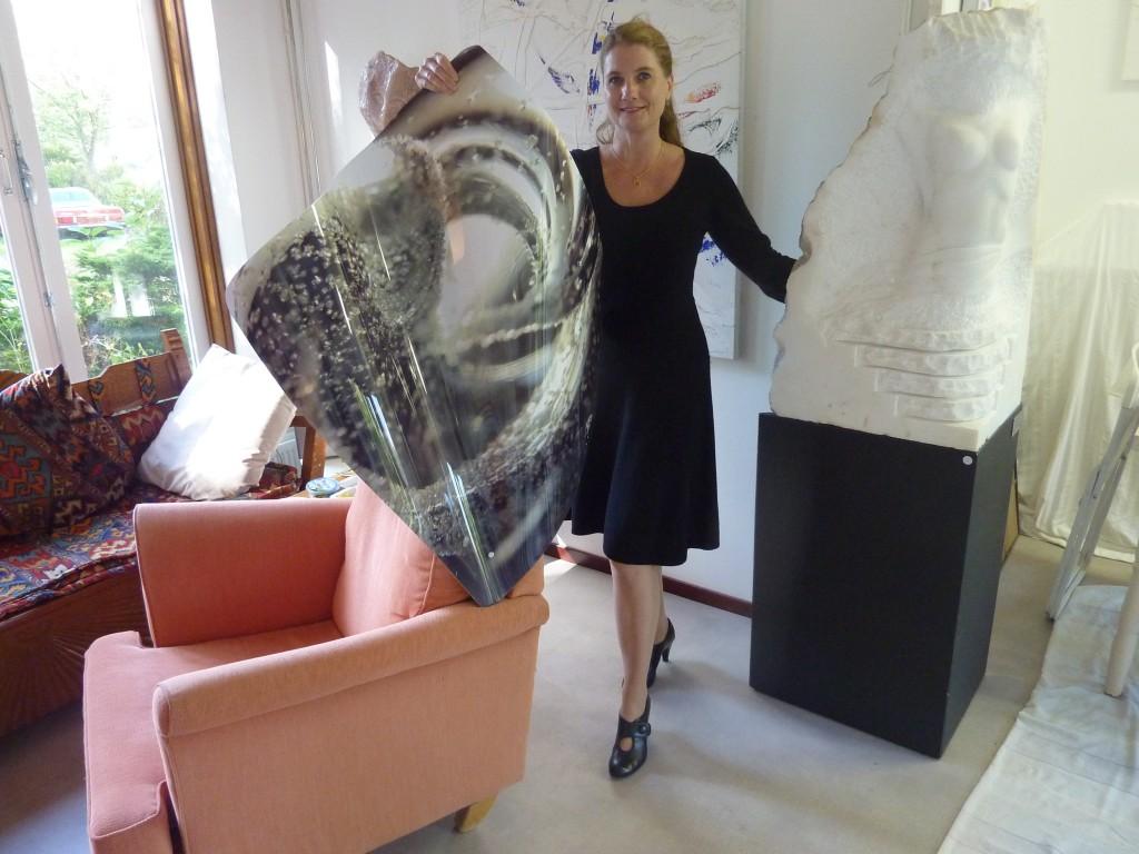 Juliette van Bavel, foto AD, Leo van der Velde