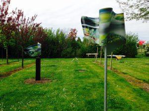 Fluid Breeze 1 + 2 Sculptuurpark Kunstkwekerij Hoorn